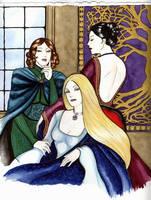 The Black Sisters by lyrakristine