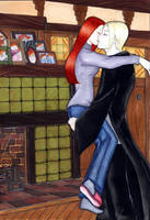 Draco and Ginny for Adrith by lyrakristine