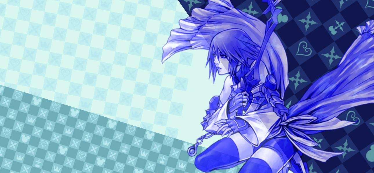 Kingdom Hearts Aqua Wallpaper Kingdom Hearts Wallpap...