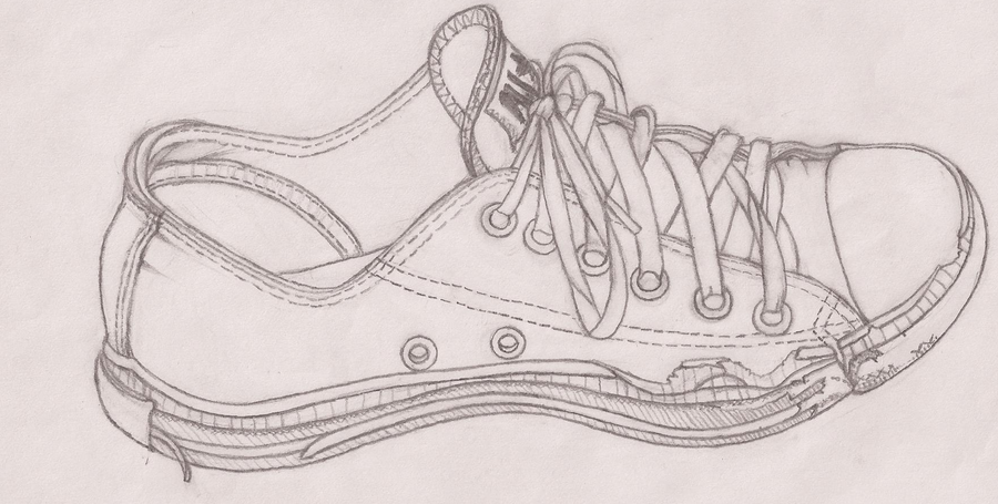Contour Line Drawing Shoes Lesson Plan : Shoe art project by ninaz on deviantart