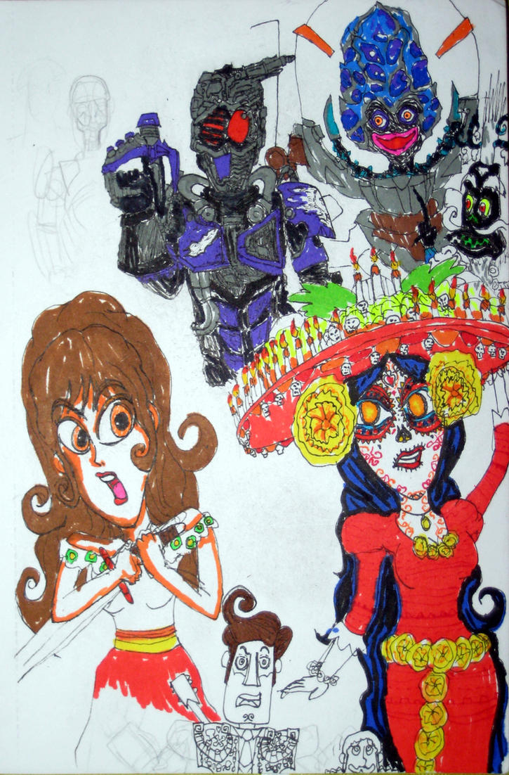 Book of Life X Mashin Chaser by ChristianPrime1-Bot