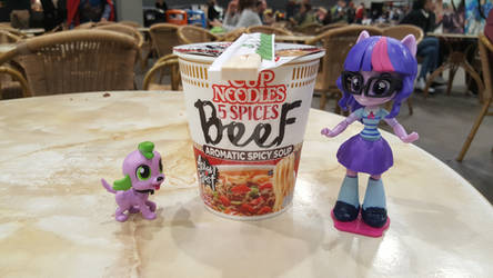 And the Noodles have it, Scitwi