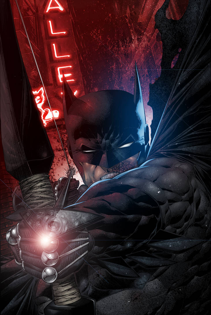 You've just shot Batman after he had a bad night.. by vincent-fourneuf