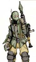 Mercenary Colored.