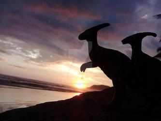 Parasaurolophus by preistoricblue