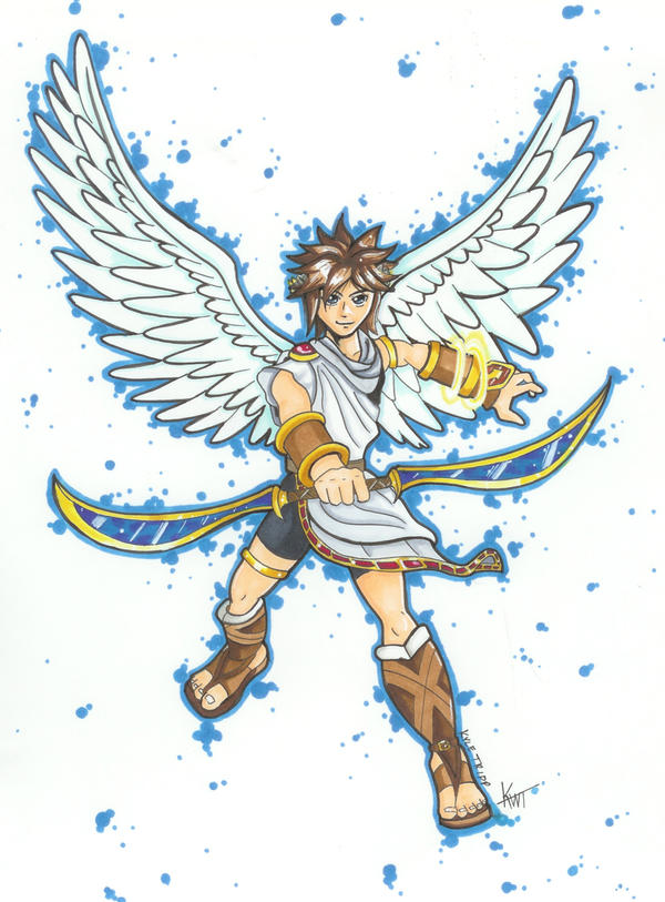 Pit Kid Icarus By Shino521