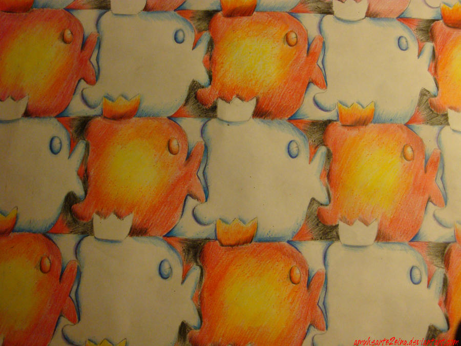 how to make a fish tessellation