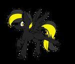 Black lightning | Running YCH