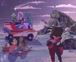 Beach - Steven Universe