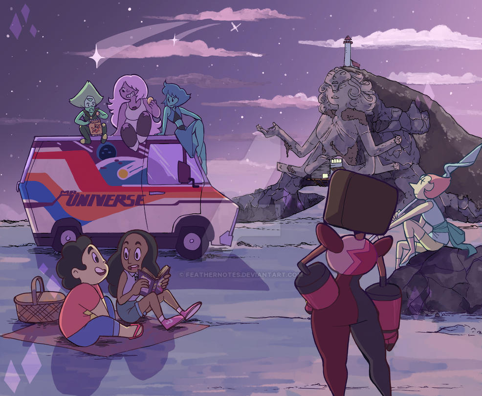 Beach - Steven Universe by FeatherNotes