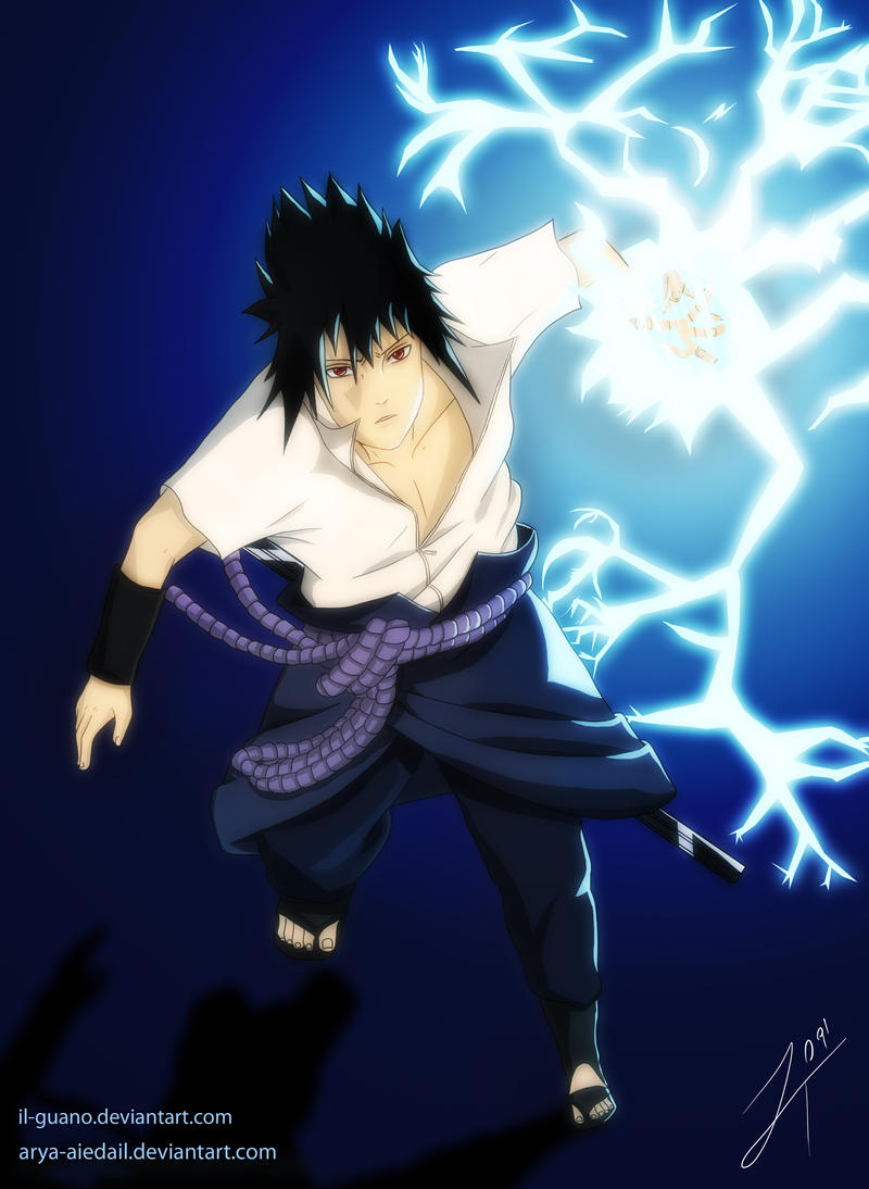Sasuke 39 s chidori by il guano on deviantart - Demon de sasuke ...