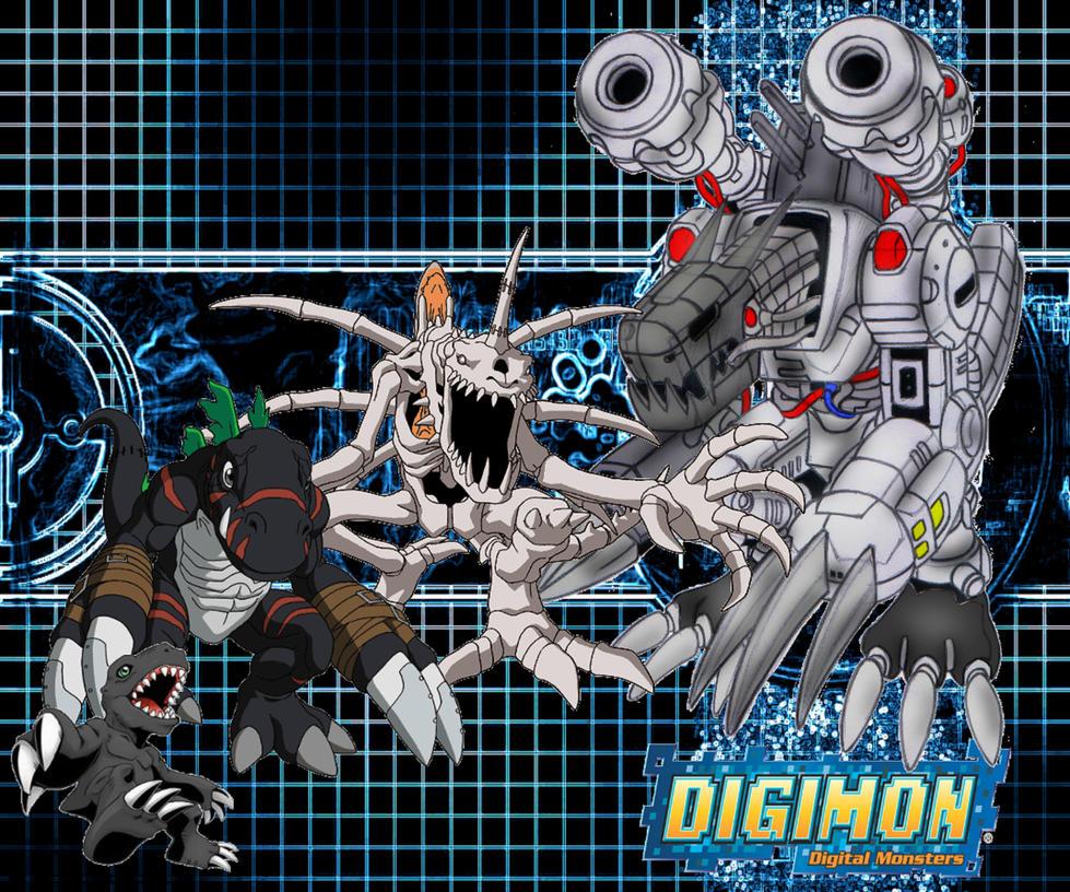 Digimon Poster by PJMohr