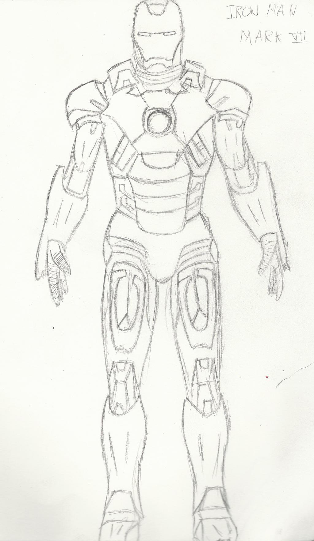 Iron Man Sketch 1 By Cordan-Wraith On DeviantArt