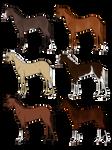 Horse Adopts Set 1 [0/6 Closed]