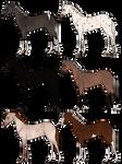 Horse Adopts Set 2 [0/6 Closed]