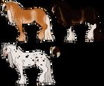 Semi-Mystery Horse Adopts 3 [0/4 CLOSED]