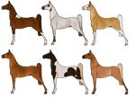 Chestnut-Based Horse Adopts [3/6 OPEN]