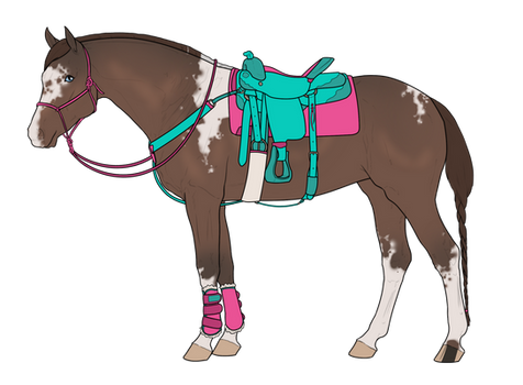 Horse + Tack Adoptable 2 [Open]