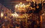 The golden antique shop