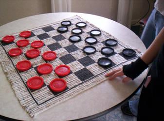 Checkers by Anyonka