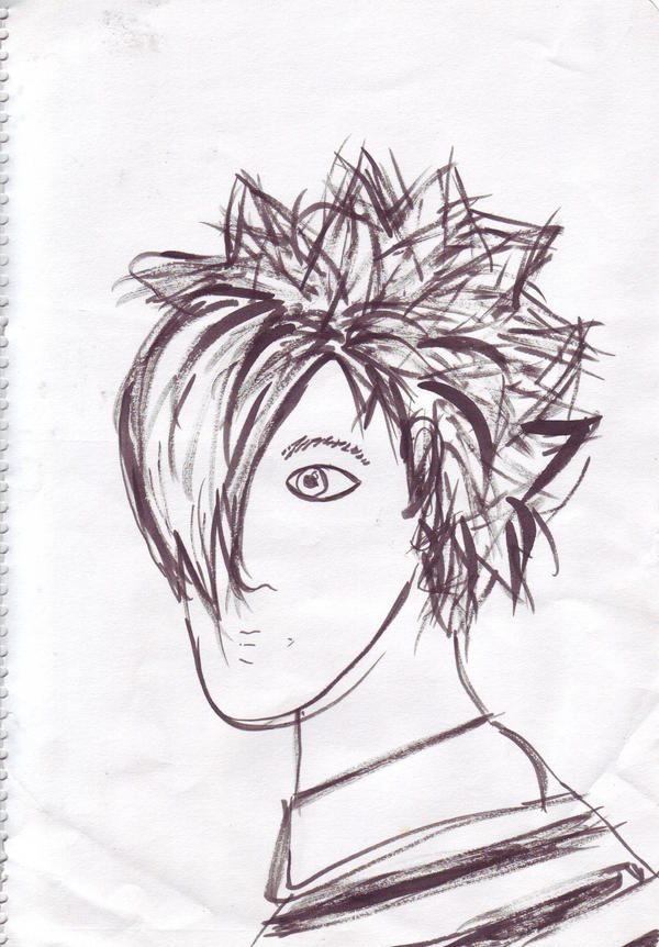 My first emo drawing by trecool69 on deviantart my first emo drawing by trecool69 voltagebd Choice Image