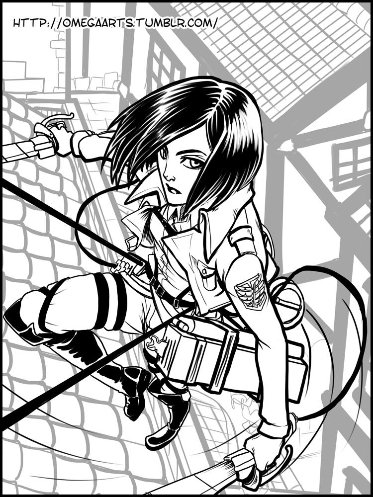 Shingeki No Kyojin Mikasa Manga Mikasa ackerman shingeki noShingeki No Kyojin Mikasa Manga