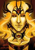 Sauron as Annatar by omegasama