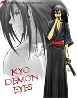 Kyo demon eyes by Jokulhaupar