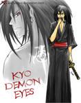 Kyo demon eyes
