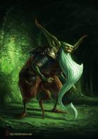 Elder Goblin by EdCid