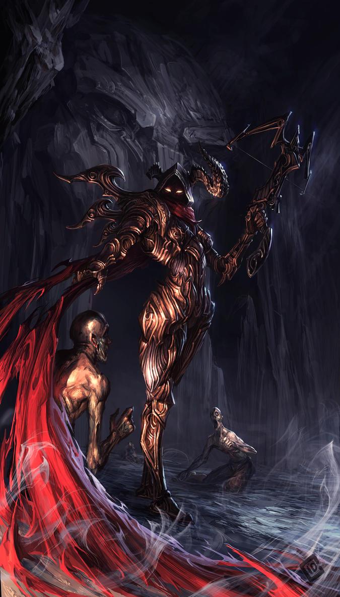 Demon Hunter by EdCid