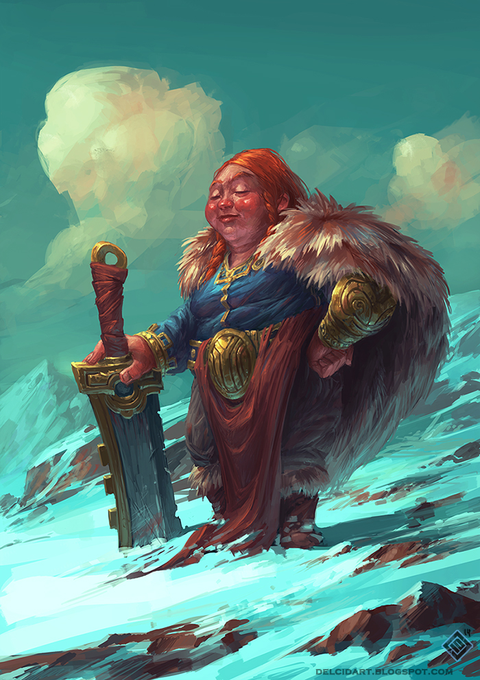 Proud Dwarf by EdCid
