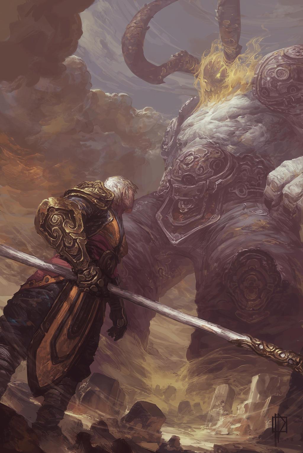 Sargeras vs Monk