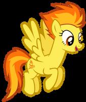 Happy Spitfire by CultLeaderFluttershy
