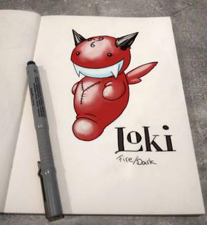 Pokiloki - #bindingofpokemon