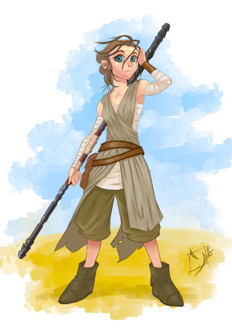 Rey by Ypslon
