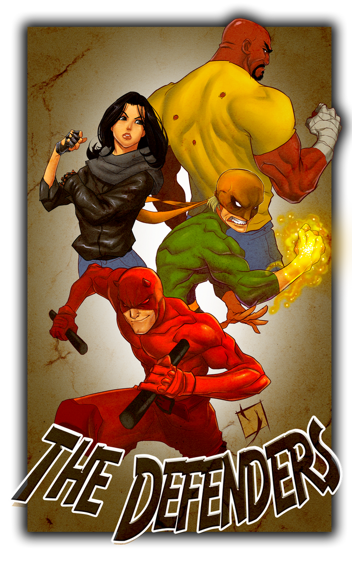 The Defenders by Ypslon