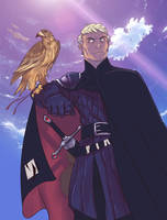 Ladyhawke by Ypslon