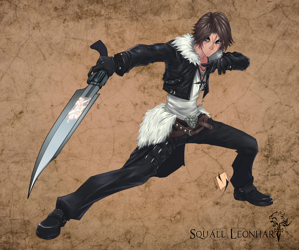 Squall Leonhart by Ypslon