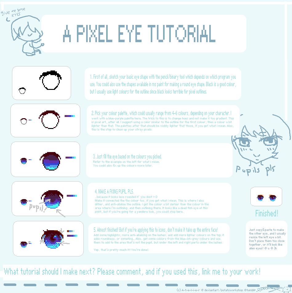 Pixel Eye Tutorial! - 3 -)~ by ATEL1ER