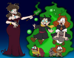 Harry Potter In Toadwarts by tffan01