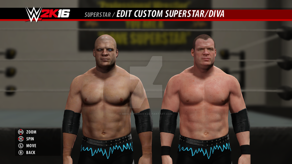 wwe superstar conversions (Kane Bray Wyatt conversion video