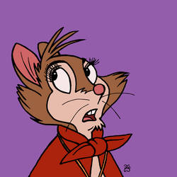 Toontober Day 13 (Bluth) - Mrs Brisby