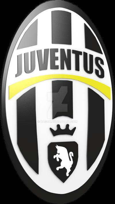 fc juventus logo render by raisck on deviantart