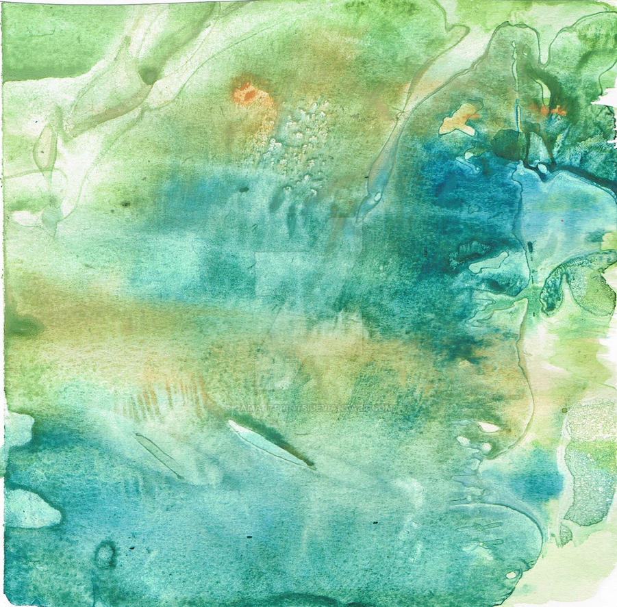 Plastic Wrap Watercolor by CamileShy12