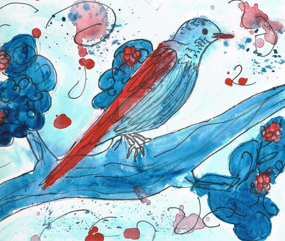 Bluebird by CamArtPrints