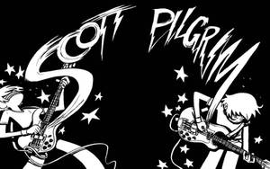 Scott Pilgrim Wallpaper by quiklost