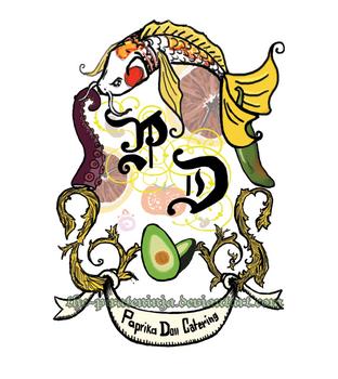 Paprika Doll Catering Logo by the-PirateNinja