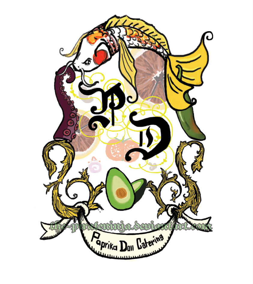 Paprika Doll Catering Logo by the-PirateNinja