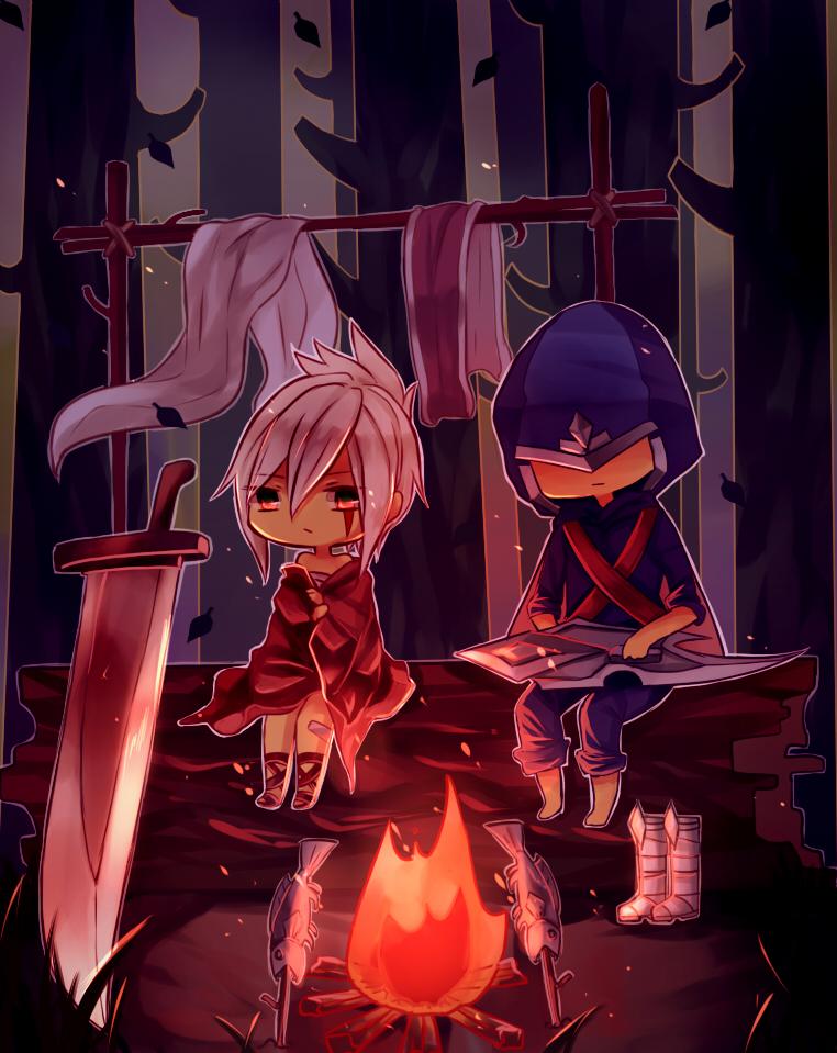 Talon and Riven 2 by Yosukii
